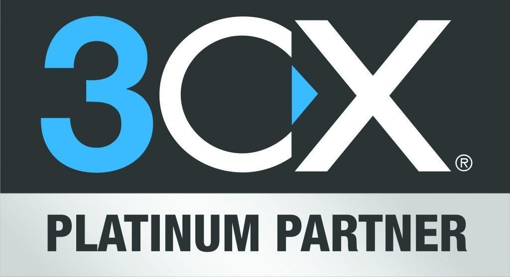 Platinum Partner 3CX Logo